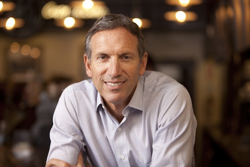 20. Howard Schultz